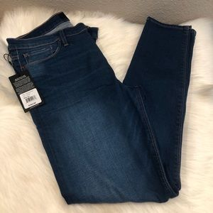 NEW HUDSON Jeans Nico Mid Rise Ankle Skinny Jeans